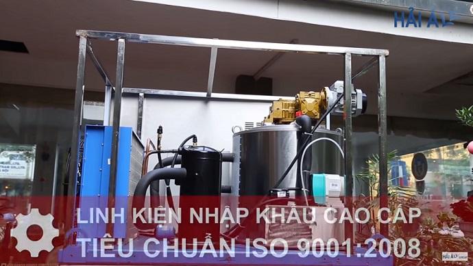 Linh kiện máy làm nước đá viên cao cấp được nhập khẩu từ Châu Âu với tem chứng nhận CE Marking